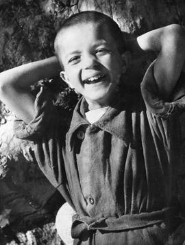 [Greece] A smiling Greek boy.