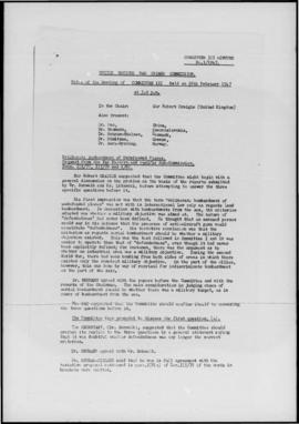UNWCC - Indexes (with supplements) to Minutes and Documents - Meeting 1/1945 - 11/1947