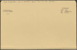 Reports Correspondence - Area I Statistical Reports - Team 325 - New Palestine