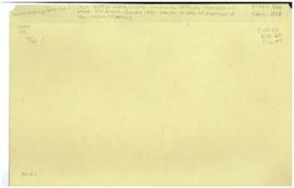 Health Division - commissions - Interim Commission of WHO - 2nd session - Geneva 1946 - transfer ...