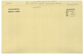 'ADEN - Members of Aden Leg. Council & others - A/AC.109/PET.201 & Add.1, 2 - COMMS.# 564...