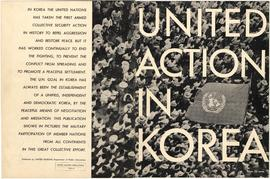 United Action in Korea - Cover