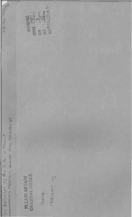 Announcements from August 1966, SG/A/34-35