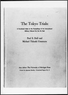 UNWCC - The Tokyo Trials - A functional index to the proceedings of the International Military Tr...