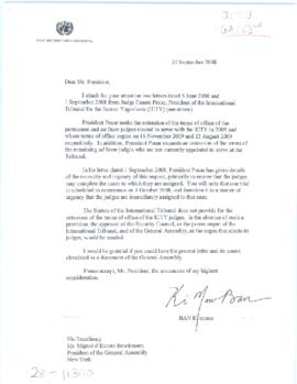 Department of General Assembly and Conference Management (DGACM) - 63rd Session of the General As...