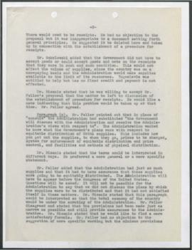 Yugoslavia - Agreement - Negotiation of Agreement UNRRA Period