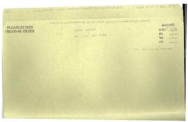 Incoming code cables - East Pakistan (file 2)