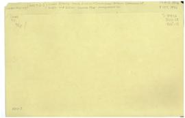 Health Division - commissions - Interim Commission of WHO - 2nd session - Geneva 1946 - arrangeme...