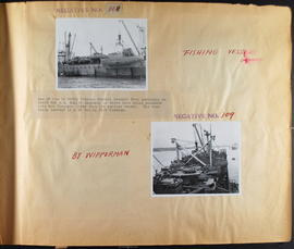 Fishing Vessels - Shanghai - by Wipperman - Negatives No. 308 and 309