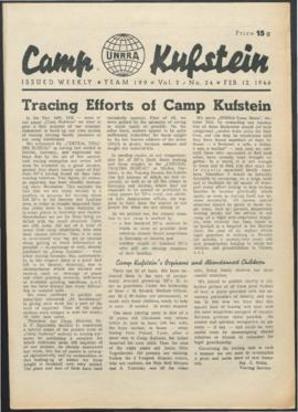 Austria - Team Bulletins, Camp Papers