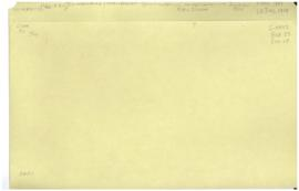 Co-ordination and Liaison Division - Specialized Agencies - Correspondences with I.C.A.O. 1947 - ...