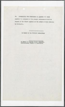 Yugoslavia - Agreement - Negotiation of Agreement Military Period