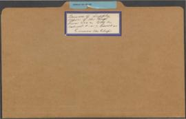 Russian War Relief - Bureau of Supply file