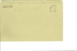 Governments - Correspondence - US Army Post Office (APO-59 changed to APO-09059)