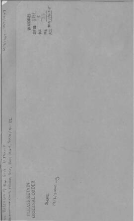 Announcements from July 1967, SG/A/51-52