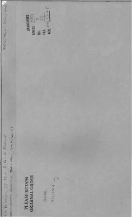 Announcements from December 1966, SG/A/36-37