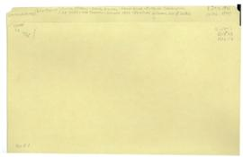 Health Division - commissions - Interim Commission of WHO - 2nd session Geneva 1946 - relations b...