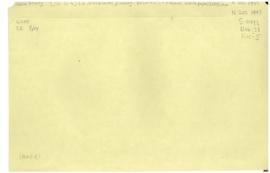 'Headquarters planning - insurance - Federal waste paper, Scagliano'