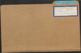 United National Clothing Collection Inc. - Bureau of Supply files