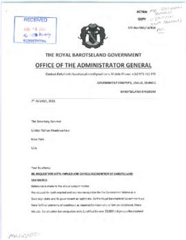 Political affairs - coordination and partnership - petitions