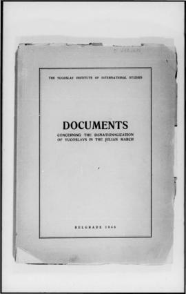 UNWCC - Publications - War Crimes Submitted by Governments Yugoslavia Documents concerning the De...
