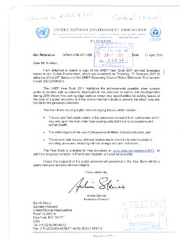 Internal relations - United Nations funds, programmes and agencies