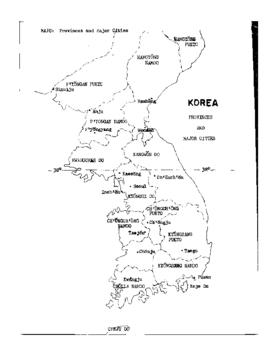 Maps of Korea