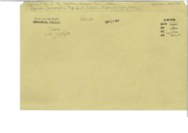 German Democratic Republic - working papers for Georg Hennig