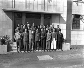CNRRA / 757 UNRRA, CNRRA and NRC officials at the opening of the new plant of the General Machine...