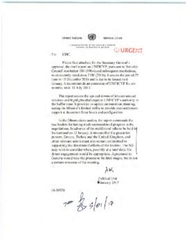 Peacekeeping - reports of the Secretary-General