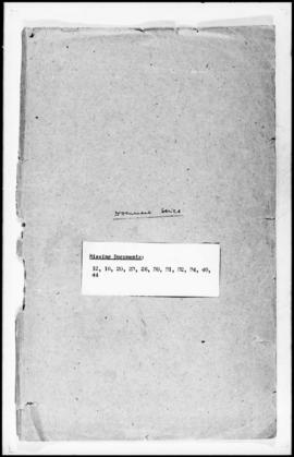 UNWCC - Documents of the Research Office Document Series Nos. 001-053 (incomplete)