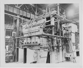 A Mitchell Peterborough transportable generating plant, a low cost unit quickly erected and steam...
