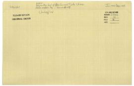 'ADEN - Beyreuther, Conf. of Free German Trade Unions - A/AC.109/PET.194 - COMM.# 498'