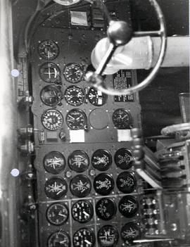 second pilot's flight instrument panel.