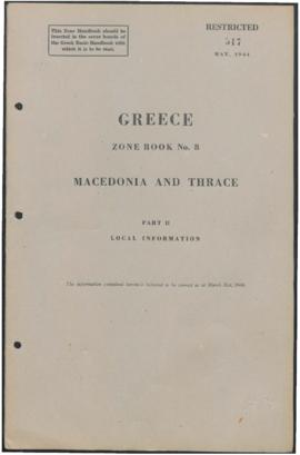 Zone Book 8, Macedonia and Thrace - Part 2 - Local Information