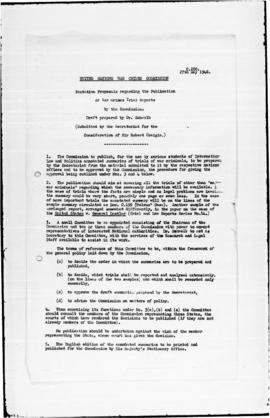 UNWCC - Notes on listings of documents and cases: C (C001-C267)