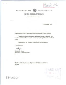 Academic - Model United Nations Associations