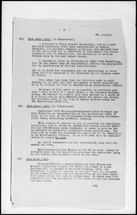 UNWCC - Documents of the Research Office Summaries of information Nos. 001-053 (2 Files)