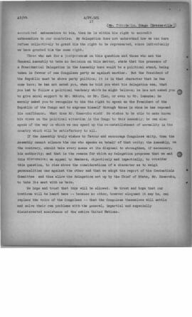 'Delegation Comments on the Role of the Secretary-General and Secretariat - November 1960, A/PV 9...