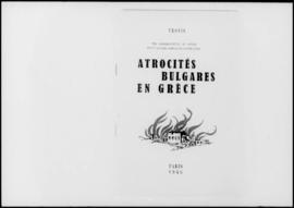 UNWCC - Publications relating to War Crimes Submitted by Governments - Greece - Atrocites Bulgare...