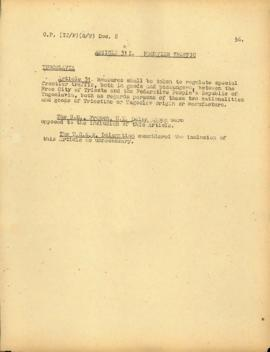 Political and Territorial Commission for Italy - Sub-Commission on the Statute of the Free Territory of Trieste - Documents