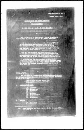 UNWCC - Lists of files received from the British War Crimes Executive (Research Circular No. 17)