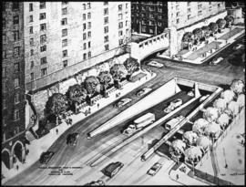 City of New York development - Tunnel link of 1st Ave. rendering by Kautzky