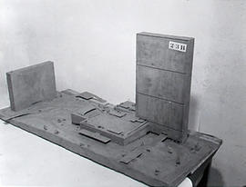 Le Corbusier's clay model - Photograph