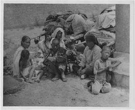 Refugees from the famine stricken parts of Honan Province