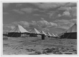 [Middle East] Tents at Nuseirat, southern Palestine, which is UNRRA's biggest camp for Greek refu...