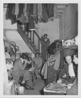 CNRRA 30  Jammed into eight camps, German and Austrian refugees live out of steamer trunks