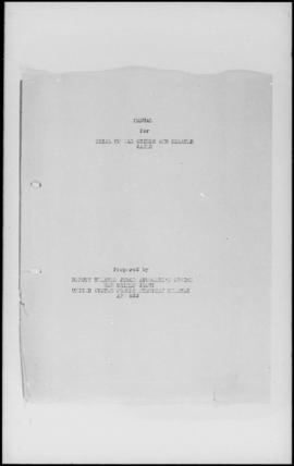 UNWCC - Allied Military Forces Manual for Trial of War Crimes and Related Cases (prepared by Depu...