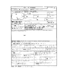 POW Cemetary Number 2 - Pusan, Korea - Internment Report - Grave 5573