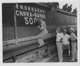The 500th UNRRA-CNRRA barge assembled in China was launched July 11th at the CNRRA Barge Assembly on Point Island